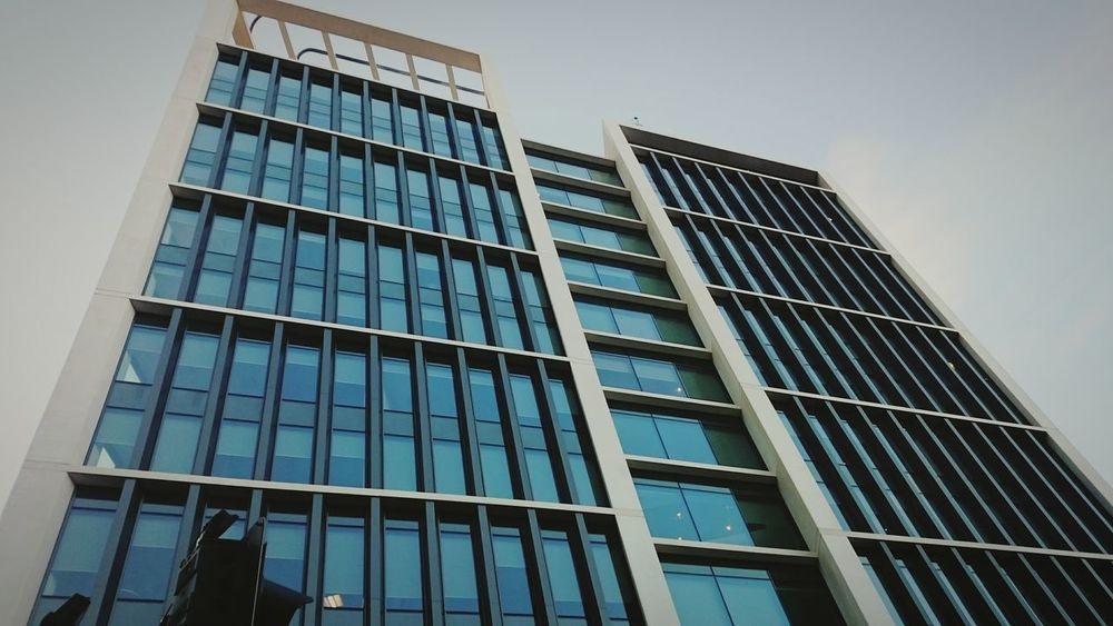 Buildings & Sky Cardiff Subtlelight