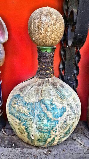 Old Vase Ancient Vase Antique Maps MaPa Botella Bottle Old Botte Collection Botte Botella De Coleccion