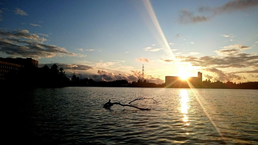 Hello World Water_collection Long Lake Recreation Area Swimming Sunset_collection Sunshine Sun