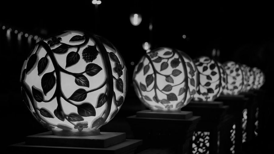 Art Product Black And White Blackandwhite Blackandwhite Photography Illuminated Illumination Light No People Symmetry Welcome To Black