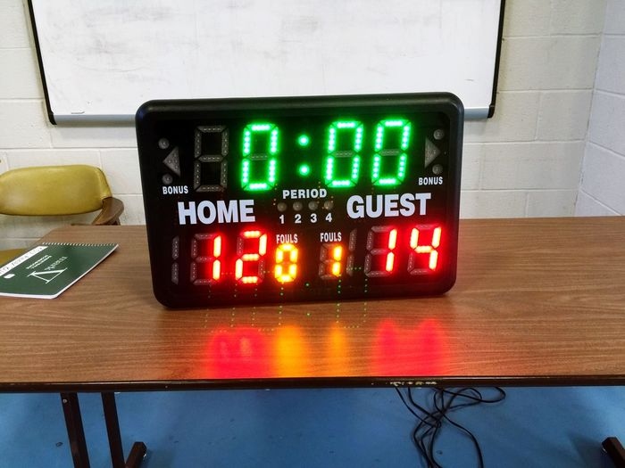 My Best Photo 2015 Winning And Losing Scoreboard Kent State Basketball Game Scrimmage Life Lessons