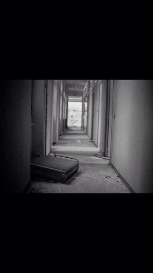 Abandoned Buildings Mamiya 645 Hilford Hp5+