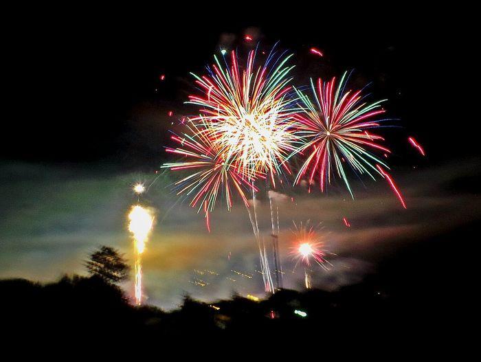 Fireworks Feuerwerk Ooh Lala Ooh And Aah Summernight Sommernacht Sommernachtstraum