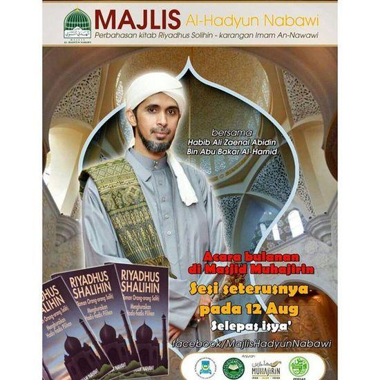 Tomorrow!!! Mustgo Gojer Letsgo Veryveryvery Alhadyunnabawi Habibalizainalabidin