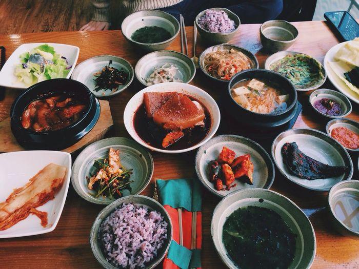 Hello World Food Korean Food Eating #yummy ?