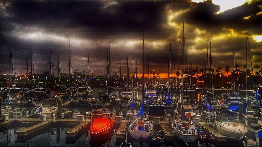 Lil Nightphotography Hdr_Collection HDR Cloud - Sky Sky Night Nature Sunset