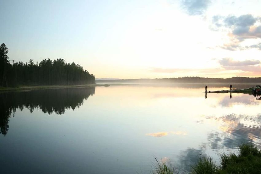 Fog Over Water Lake Reflection Sunset #sun #clouds #skylovers #sky #nature #beautifulinnature #naturalbeauty #photography #landscape Sunset_collection Sunset Hello World Check This Out Relaxing Enjoying Life Beauty In Nature Lakeshore Finding New Frontiers
