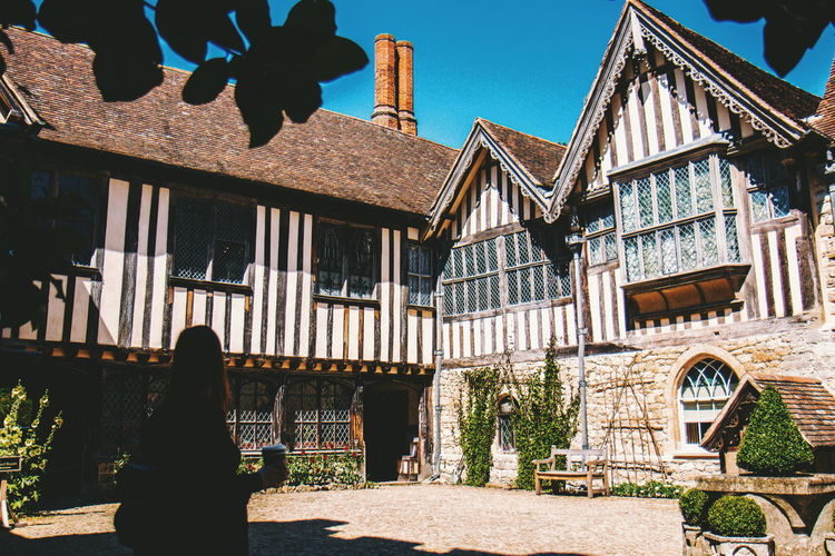 And the rest - National Trust Ightham Mote Summer Building Exterior Sky Architecture Building Exterior Built Structure Historic