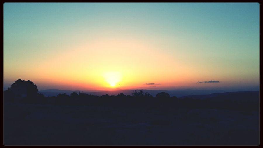 Sunset♡♡ First Eyeem Photo