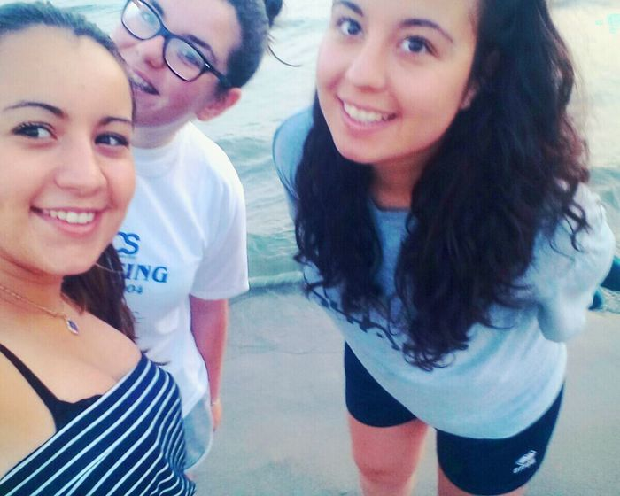 Salerno Mare Friends Enjoying Life
