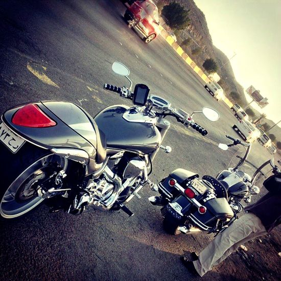 Motorcycle Harley Davidson M109R Boulevard Sport Bikes Close-up Goldwing City Street