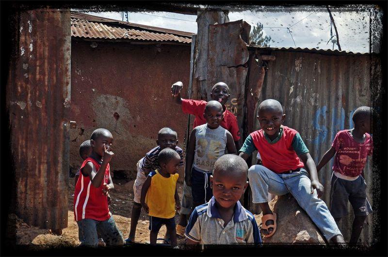 Hello World Kibera Child Africa