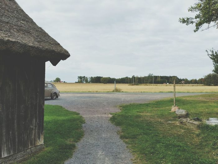No People Old Buildings Old Car The Drive Live For The Story Countryside Country Life Scandinavia Breathing Space