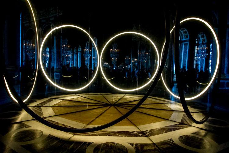 #mirror #room Of Mirrors #versailles Light Effect Technology