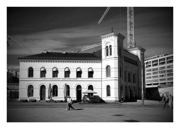 Nobel Peace Center in Oslo Norway