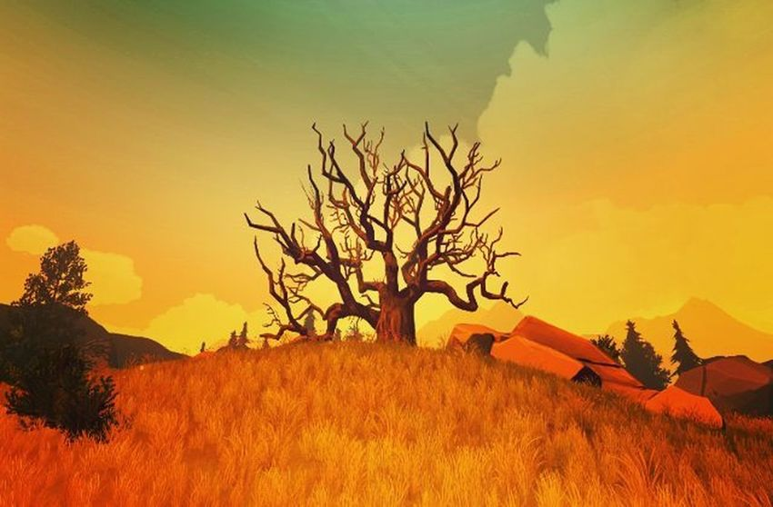 Firewatch Game Screenshot Gaming Videogames Games Game Lifeisgood Herewego Instagram Picoftheday Instapic PCGaming IGN Kotaku Landscape Photography Lovely Lovelyday Xbox Xbox360 Treeoflife Videogame  Pcgamer Artistic world