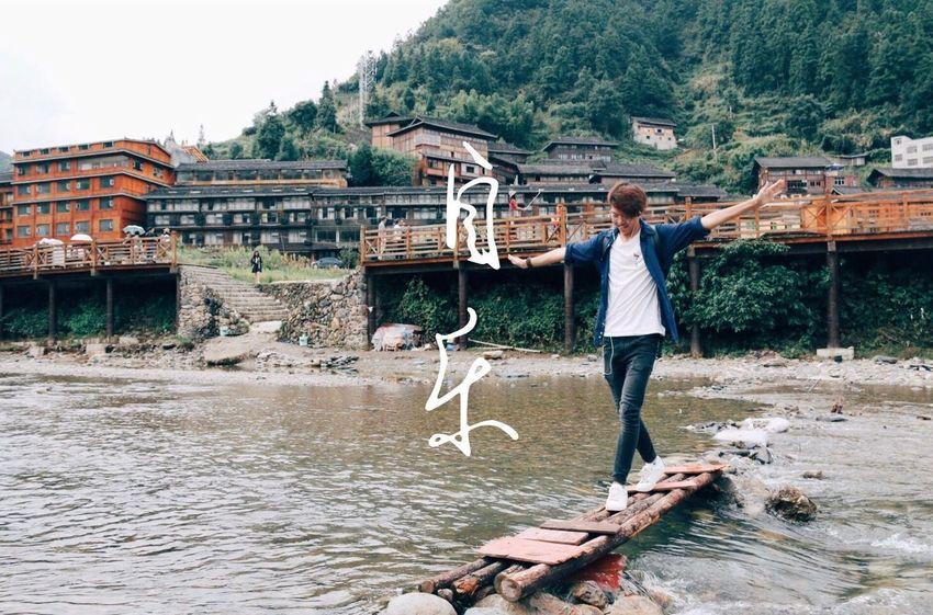 自乐 最美中国 China In My Eyes Tommy Wang Interest In Life One Person Water Day Full Length Adult Only Women Outdoors Adults Only One Woman Only People Young Adult Tree Nature