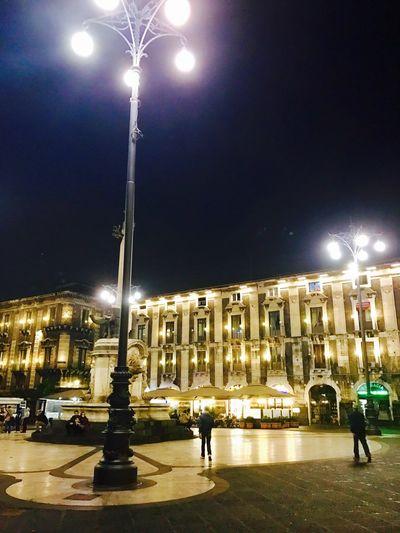 Piazza duomo di Catania Night Architecture Piazza Duomo Di Catania l Lampioni Notte