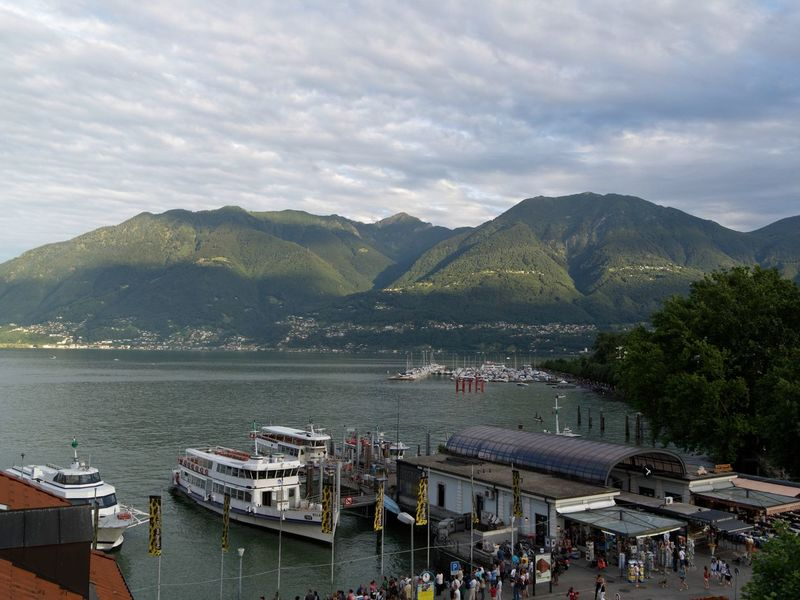 Architecture Cloud - Sky Day Harbor Large Group Of People Mountain Nature Nautical Vessel Outdoors People Sky Transportation Water