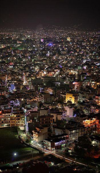 Kathmandu Night Illuminated Cityscape Architecture Travel Destinations Building Exterior Nightlife Outdoors City Nepal Festival Nepal Kathmandu Kathmandu Valley Travel Photography Night Lights Citylights EyeEm Best Shots Long Exposure No People Here