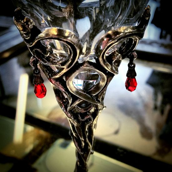 Upclose  Glass Art Crystal Gothic Alchemy Gothic