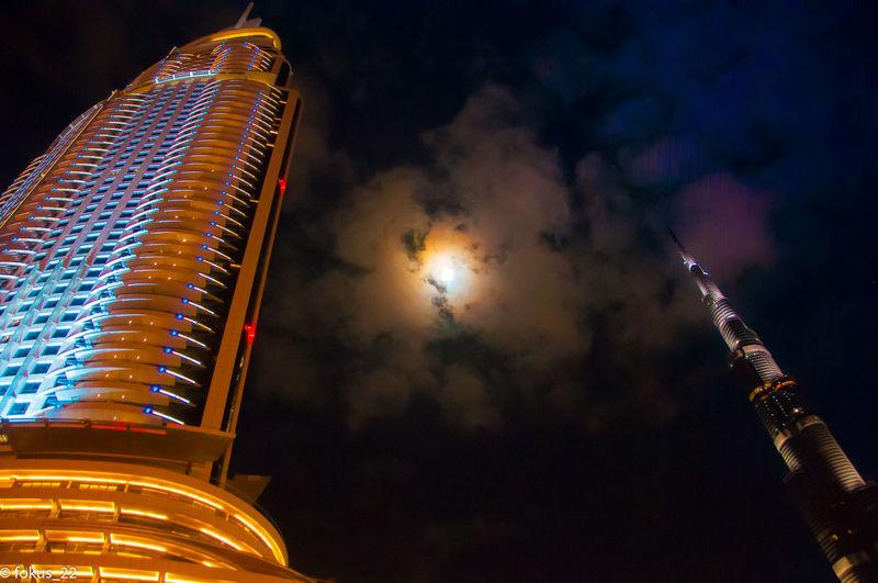 dubai Architecture Burj Khaliva, City City Life Cloud - Sky Dubai❤ Modern Night Sky Tourism