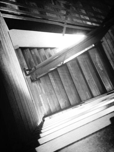 Stairs Black & White Glasgow