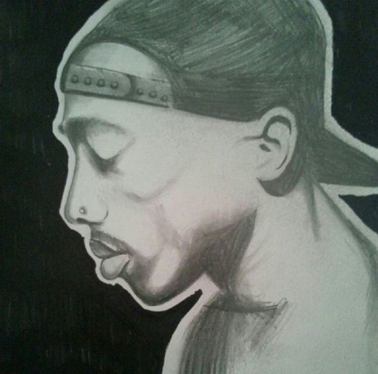 Drawing Hip Hop 2pac California Love