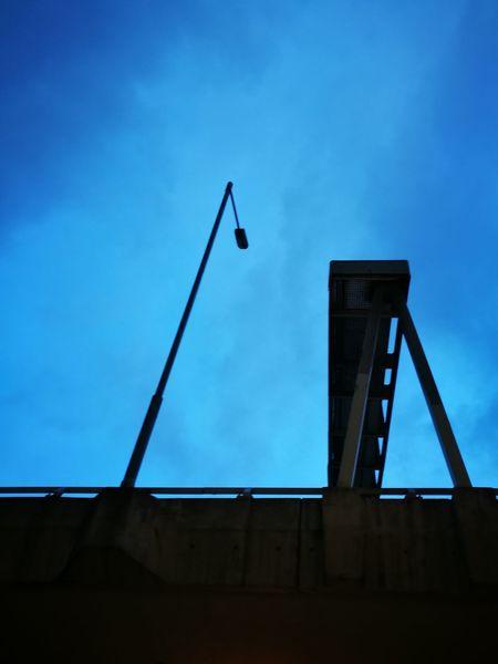 Nightfall Dusk The City HongKong Lamp Streelight Sky