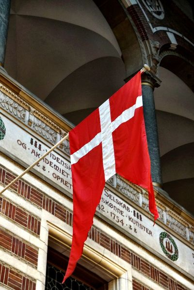 From My Point Of View Flag City Cityhall Copenhagen Building Architecture The Tourist