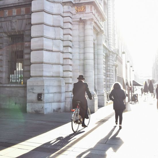 City Day People Outdoors Shadows & Lights Shadows Sunlight EyeEmNewHere Daylight Bike City Street Street Streetphotography Streetphoto The Street Photographer - 2017 EyeEm Awards