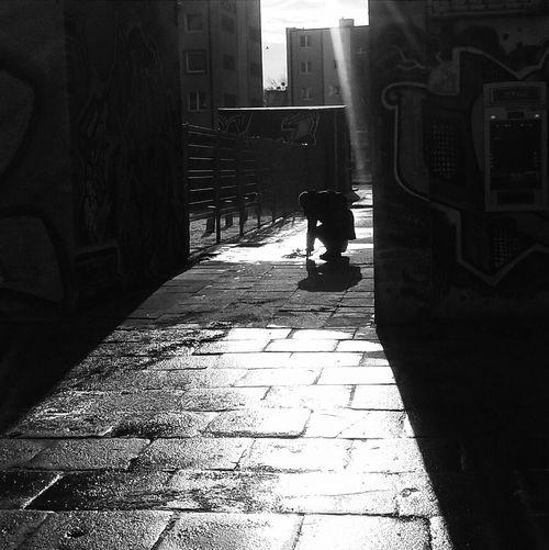 Blackandwhite Photography Gdansk VSCO Vscocam Stranger Streetphoto_bw Silhouett