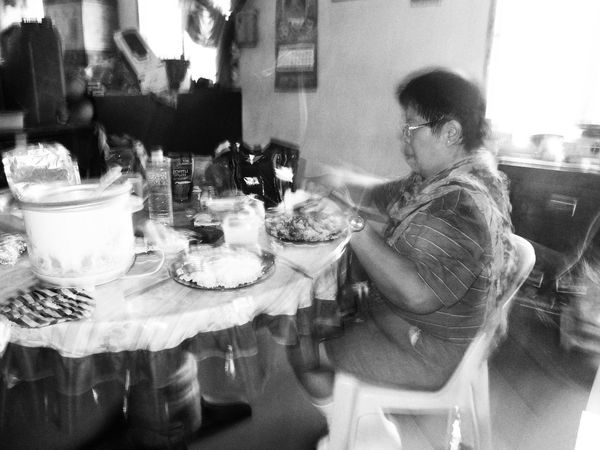 2017_0117. While having our breakfast on boots together with mother. Eyeem Philippines Monochrome EyeEm Gallery EyeEm Best Shots Finding New Frontiers EyeEm Masterclass Everyday Philippines First Eyeem Photo LitratistaSaDaan Everybodystreet Eyeem Collection EyeEmNewHere Visual Stories Everyday Mindanao Fujifilm X30 Photojourna Adapted To The City lism Documentary Photography Close-up Eyeem CDO Human Interest Everyday Life Beautiful Woman Everyday Lives