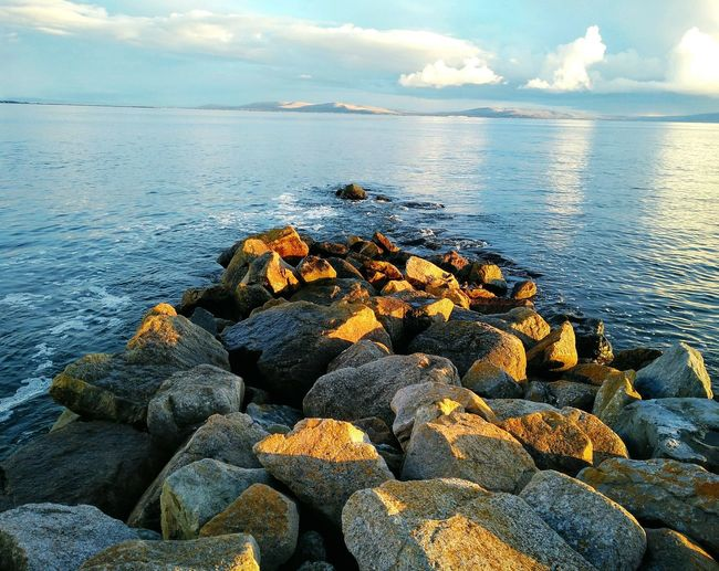 Lovely evening Blackrock Bay Sunny Tan Sumset Fishing Colours Taking Photos Nature Tides Centrefocus Blackrock Diving Board Swimming Summer Promenade