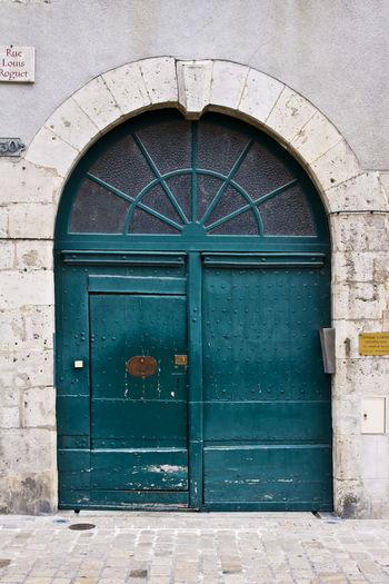 Doors Doors Lover Door_series Orléans Orléans France Door Protection Safety Entrance Closed Security Architecture Building Exterior Built Structure Closed Door Doorway
