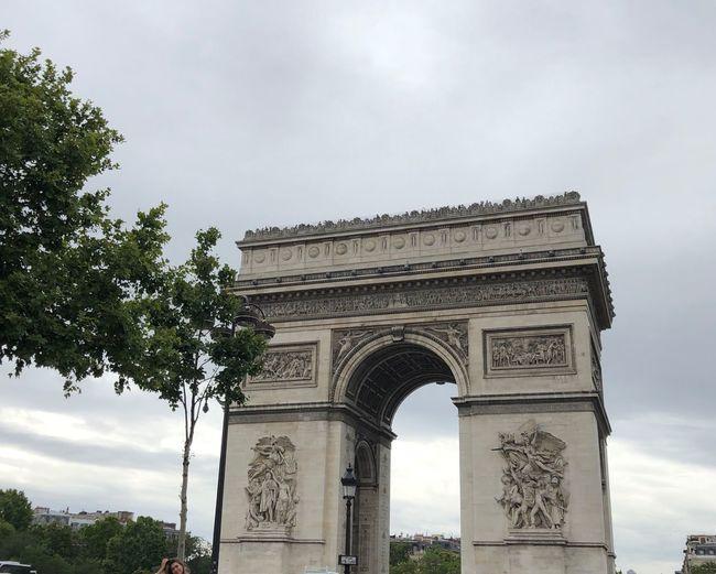 Paris L'arc De
