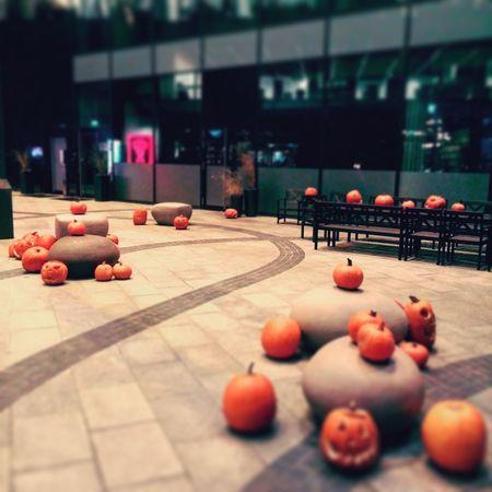 No People Outdoors Halloween Small Things Decoration Autumn Spleen  Walking Around Pumkins Orange Colour