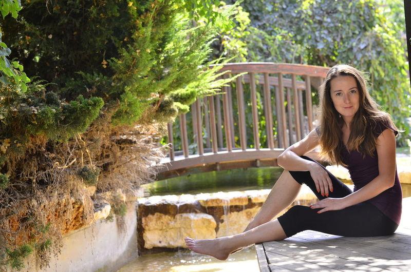 ME Self Portrait Selfportrait Selfie ✌ Outside Photography Park Fun Hanging Out Model Enjoying Life That's Me Israel Water Bridge