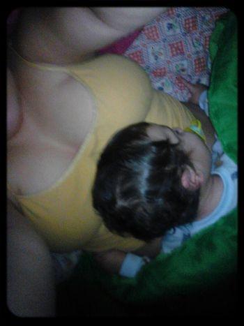 How Me And Ayden Slept Last Night! <3 (: