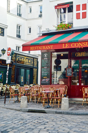 Le Consulat Outdoors Paris Travel Travel Destinations Street Streetphotography Cafe Le Consulat Montmartre Montmartre, Paris Architecture Colors Colorful Red Red Color Commerce Building Exterior Built Structure Restaurant City Sidewalk Cafe Table Seat Chair Communication Building Business Text Day Absence Sign No People Diner Pizzeria My Best Photo The Architect - 2019 EyeEm Awards