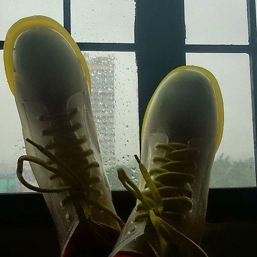 Pagkakataon na sana.. Almostbutnotquite Nopasok NOMO RainyDays boots transparent transparentboots
