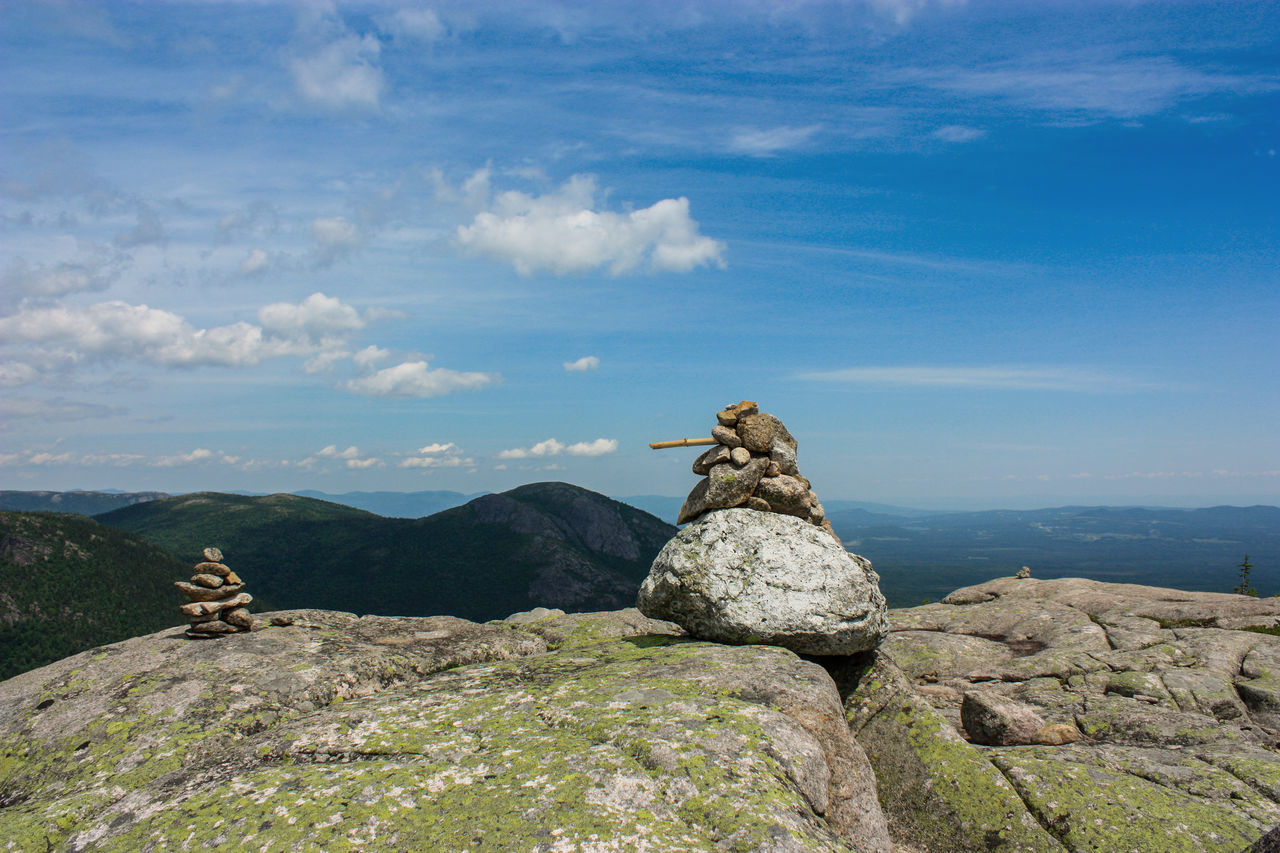 rock, solid, rock - object, sky, cloud - sky, mountain, beauty in nature, tranquility, tranquil scene, nature, scenics - nature, no people, day, non-urban scene, landscape, balance, environment, stack, idyllic, remote, mountain peak