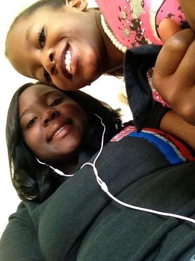 Me And This Bad Asx Lil Girl Mah Sistah Tho