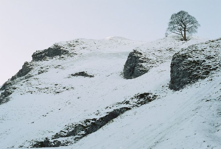 Castleton Winnats Pass Derbyshire No People Nature Outdoors Beauty In Nature Cold Temperature Winter Mountain Tree And Sky Trees Animals In The Wild Snow Large Group Of Animals Sea Day Animal Wildlife Scenics Animal Themes Sky