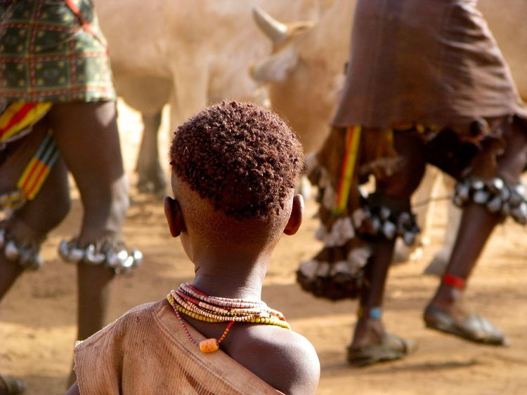 EyeEmNewHere Childhood Close-up Day Focus On Foreground Lifestyles Men One Person Outdoors People Real People Rear View Tribe Women