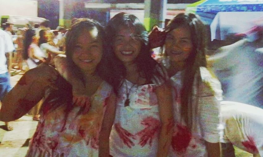 Waterval Party last night!! Party Paint Wetparty Friends