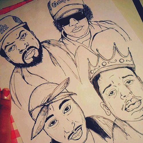 Drawing Art Rappers Fineliner