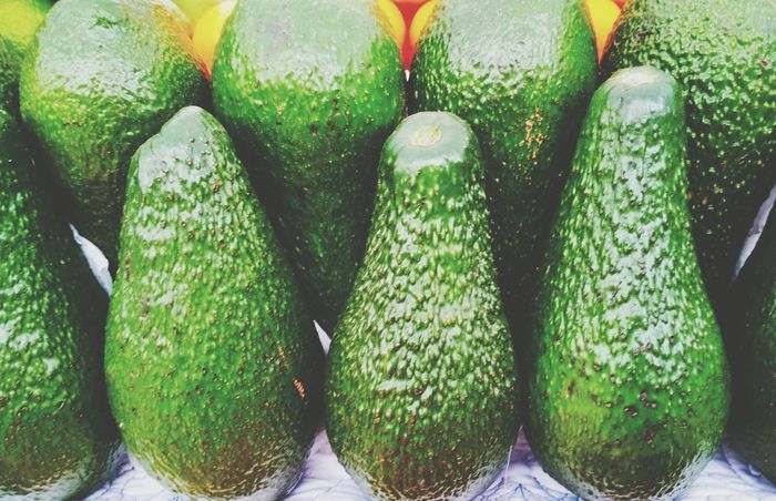 Avocado Vegan Vegan Food Vegetarian Tasty Delicios Yellow Green Vegetarian Food Cuisine Cold Appetizer Artistic Veg Foodpics Colors EyeEm Selects Design Green Color Food And Drink Food Vegetable No People Healthy Eating Large Group Of Objects Market Indoors  Freshness Backgrounds Day Close-up