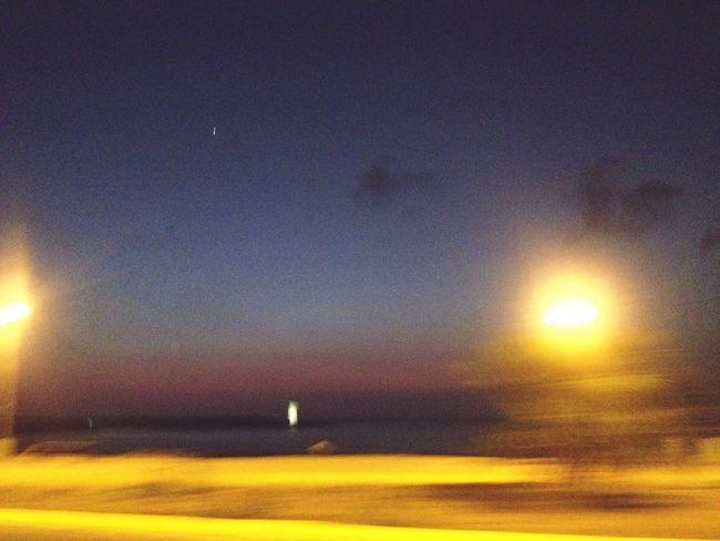 Photography Timeline Illuminated Sunset Sea Orange Color Night Beach