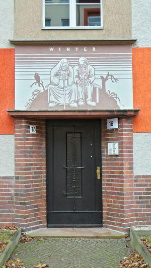 Architecture Architektur Door Fenster Fenster Und Türen Jahreszeiten Leipzig Season  Tür Window Windows And Doors Winter